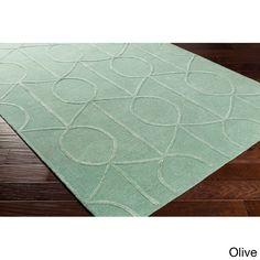 Surya Hand-Tufted Taunton Wool Rug (4' x 6') (