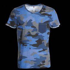 ee437c5ad614 cz - Pánské triko s krátkým rukávem Discovery Pocket PAYPER - blue…