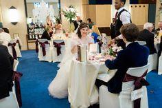 A Carolina Herrera bride and an Alexander McQueen groom for a Jewish Irish wedding at the Senate House Library, London, UK
