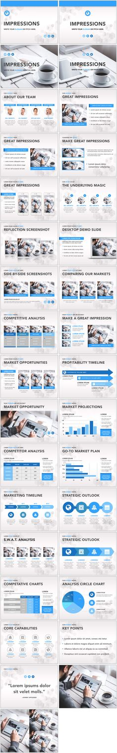 Keynote Templates designed to make your content look stunning.