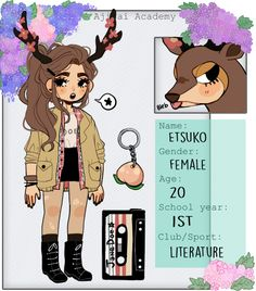 64 Ideas Birthday Girl Drawing Etsy For 2019 Pretty Drawings, Kawaii Drawings, Tumbrl Girls, Drawn Art, Pokemon, Cute Art Styles, Meet The Artist, Little Doll, Cute Characters