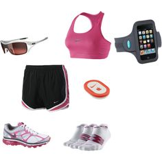 Necessary Running Gear, created by allkntry72.polyvore.com