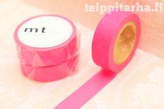 Neonpinkki masking tape
