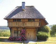 This 600 Year Old Timber Frame Building was built in France in 1420.