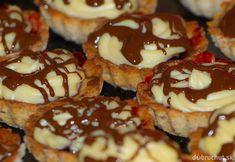 Brabantské dortíčky s marcipánem Doughnut, Nutella, Christmas Diy, Cheesecake, Muffin, Cooking Recipes, Cookies, Baking, Breakfast