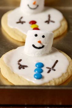 Melted Snowman Cookies  - Delish.com
