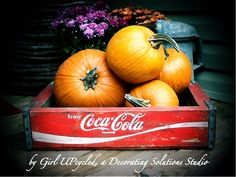 Vintage CocaCola Wooden Crate dating back to 1971 by girlUPcycled, $45.00
