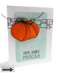 The Alley Way Stamps - Designer Dana Warren - Tooty Fruity, Bot Time