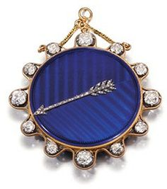 """Pocket watch ordered from Breguet by Empress Josephine in 1800 for her daughter, Hortense de Beauharnais. Originally it had only the """"H"""" monogram but after Napoleon was crowned, Josephine had the crown added above the """"H. Rose Kennedy, Caroline Kennedy, Kennedy Jr, The Purple, Love Blue, Stella Tennant, Daphne Guinness, Diana Vreeland, Isabella Blow"""