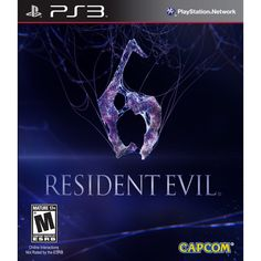 Gaming games ps3 | Resident evil 6 RE6 - PS3 game (Standard Edition)