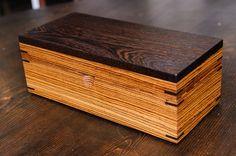 Card Boxes - Wenge & Zebrawood