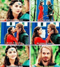 I love this episode - because here, Clara Oswald is every fangirl...and what we'd do if we were to meet our heroes.