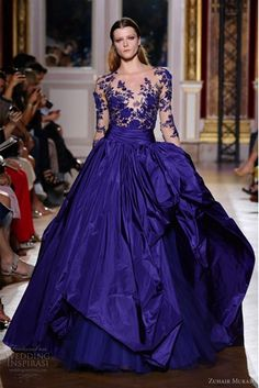 IN BLACK. OH YES. Zuhair Murad's 2013 Couture Collection