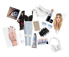 Cool or not?? by cansu-celebi on Polyvore featuring polyvore, fashion, style, sass & bide, Topshop, Monki, INDIE HAIR, Pieces, Beats by Dr. Dre, Forever 21, Oliver Peoples, L'Occitane and Couture Colour