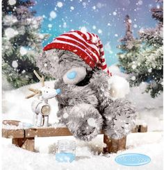 Me To You Christmas - Winter 2016 Christmas Poems, 3d Christmas, Christmas Scenes, Xmas, Tatty Teddy, Teddy Images, Teddy Bear Pictures, Winter Pictures, Christmas Pictures