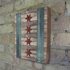 Chicago Flag  Wood Block Art Print by LuciusArt on Etsy, $39.00