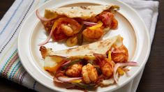 Governor Shrimp Tacos recipe from Pati's Mexican Table Season Episode 1 Mexican Kitchens, Mexican Dishes, Mexican Food Recipes, New Recipes, Dinner Recipes, Cooking Recipes, Ethnic Recipes, Recipies, Lime Recipes