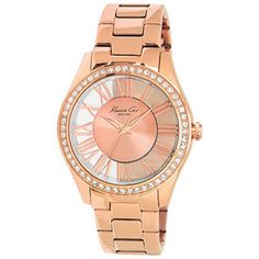 Kenneth Cole Women's Newness KC4852 Rose-Gold Stainless-Steel Quartz Watch with Rose-Gold Dial | Overstock.com Shopping - Big Discounts on Kenneth Cole Women's Kenneth Cole Watches
