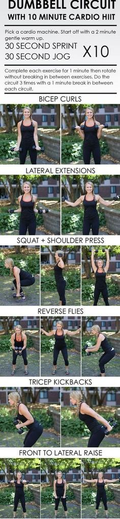 Dumbell Circuit Workout