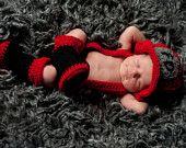 Crochet Fireman Pattern