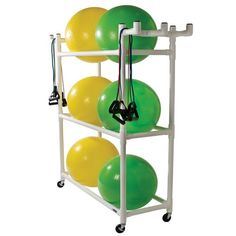 Stability Ball Cart | Storage Rack for Exercise Balls | Kettlebells USA®