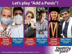 """Let's play """"add a penis"""" #MediaWeLike #feminism"""