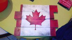 peinture sur bois palettes
