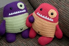 Monsters! I need to crochet some monsters.