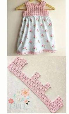 Resultado de imagen para vestido playero con canesu tejido