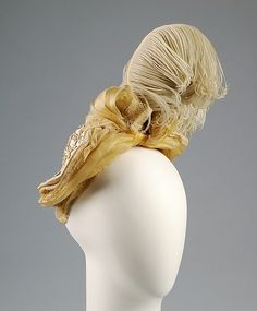Bonnet Designer: Berthe  (French) Date: ca. 1885 Culture: French