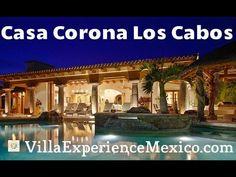 Cabo San Lucas, Mansions, World, House Styles, Html, Youtube, Villa, Home, Crowns