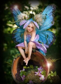 Deb Wood ooak fairy doll