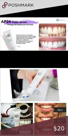 AP24 Pasta Blanqueadora /Whitening Thoothpaste Su blanqueamiento natural, su sabor neutro y fresco a menta-vainilla, sus ingredientes clave, y su inmejorable relación calidad-precio la convierten en la mejor pasta de dientes para blanquear los dientes.  Its natural whitening, its neutral and fresh mint-vanilla flavor, its key ingredients, and its unbeatable value for money make it the best toothpaste for teeth whitening. Bath & Body Tools Best Toothpaste, Dental, Key Ingredient, Teeth Whitening, Fresco, Bath And Body, Mint, Natural, Vanilla