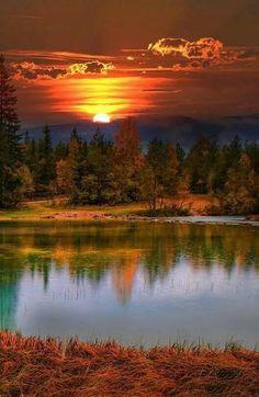 Beautiful World, Beautiful Places, Beautiful Pictures, Fall Pictures, Nature Pictures, Pics Of Nature, Art Nature, Landscape Photography, Nature Photography