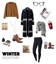 """New year eve winter!"" by farahnurjannahn on Polyvore featuring H&M, Helene Berman, NIKE, Sephora Collection, Acne Studios, GlassesUSA, Botkier, Kylie Cosmetics, tarte and NYX"