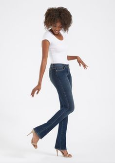 382557e19e Alloy Apparel's Tall Dark Denim Jeans is available in the Avery Tall  Bootcut Jean. Tall Women's Jeans got even better as it's cut in our best  selling ...