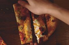 This rustic breakfast dish is like having a bacon, egg and cheese omelet baked right into a golden brown pizza crust.