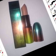 Limited edition Mac lipstick Mac wash and dry. Creme d'nude and it's brand new with box. No trades. Price is firm MAC Cosmetics Makeup Lipstick