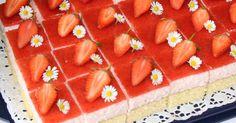 Erdbeertraum- Kuchen, ein Rezept der Kategorie Backen süß. Mehr Thermomix ® Rezepte auf www.rezeptwelt.de
