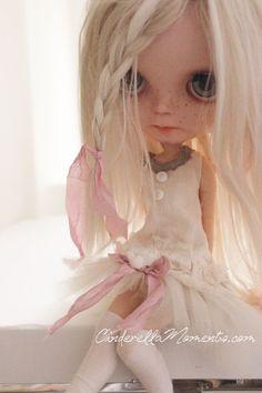 Finlee Custom Blythe Doll Alpaca Reroot OOAK by cinderellamoments