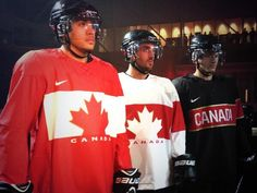 #Sochi2014 Team Canada hockey jerseys unveiled (your reaction)
