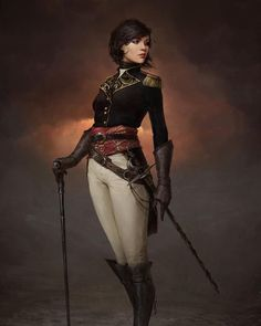 Art about fantasy, steampunk, comics, sci-fi and other lands of dreams. Steampunk Characters, D D Characters, Fantasy Characters, Dungeons And Dragons Characters, Female Character Design, Character Concept, Character Art, Animation Character, Art Steampunk