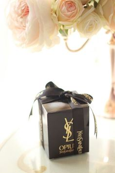 YSL gift box. Try any perfume www.scentbird.com