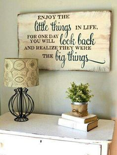 The little things quote