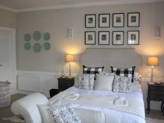 Wilde At Heart - Black and White French bedroom decor