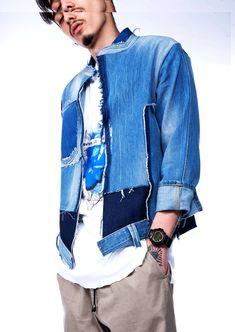 My Man, Showroom, Denim, Jackets, Fashion, Down Jackets, Moda, Fashion Styles, Jacket