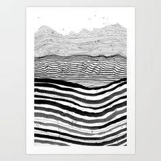 Modern art. Pattern 22 by Sandra Dieckmann