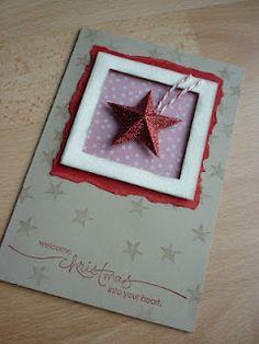 "Jenny's Papierwelt: Karte ~ ""little red star"""