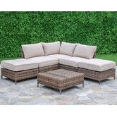 Found it at Joss & Main - 6-Piece Darby Patio Seating Group