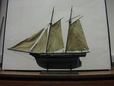 A Schooner rigged Pond Yacht